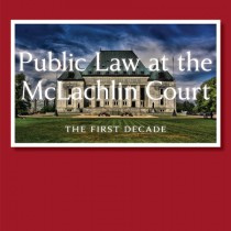 public law at the mclachlin court